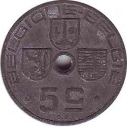 Бельгия 5 сантимов 1941 (BELGIQUE-BELGIE)