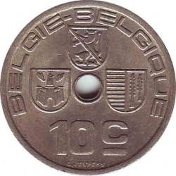 Бельгия 10 сантимов 1939 (BELGIE-BELGIQUE)