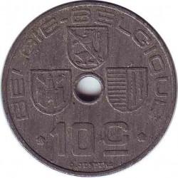 Бельгия 10 сантимов 1942 (BELGIE-BELGIQUE)