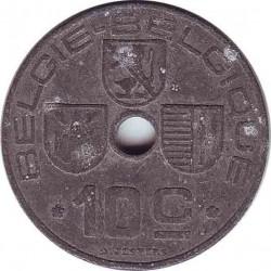 Бельгия 10 сантимов 1944 (BELGIE-BELGIQUE)