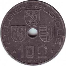 Бельгия 10 сантимов 1946 (BELGIE-BELGIQUE)