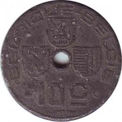Бельгия 10 сантимов 1941 (BELGIQUE-BELGIE)