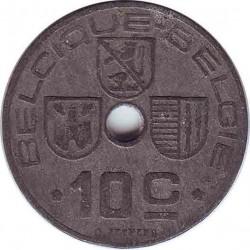 Бельгия 10 сантимов 1943 (BELGIQUE-BELGIE)