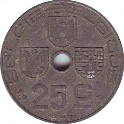 Бельгия 25 сантимов 1944 (BELGIE-BELGIQUE)